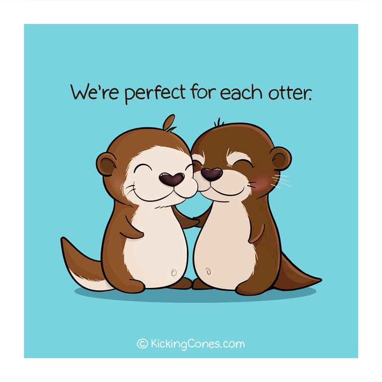 Perfect for Each Otter